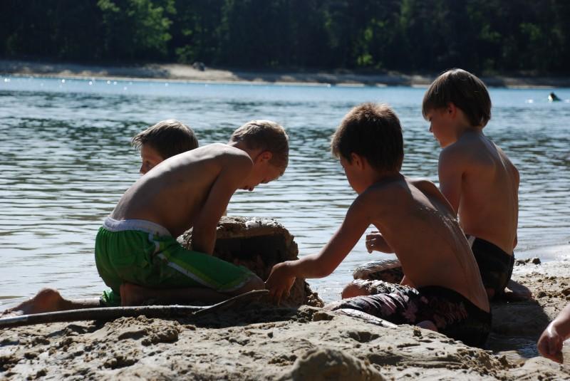 Camping Buitenpret - Recreatieplas