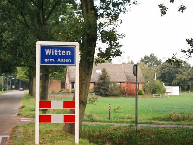 Bed & Breakfast Buitenpret - De dorpsgrens van Witten
